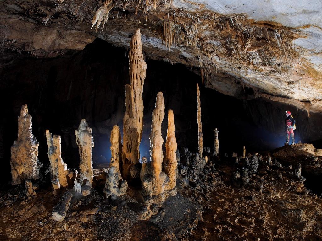 Segundo Premio Espeleólogo de Barro 2017 Cueva Mur. Autora: Ana Sobrino