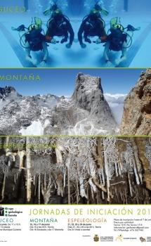 Introducción al buceo, la montaña y la espeleología