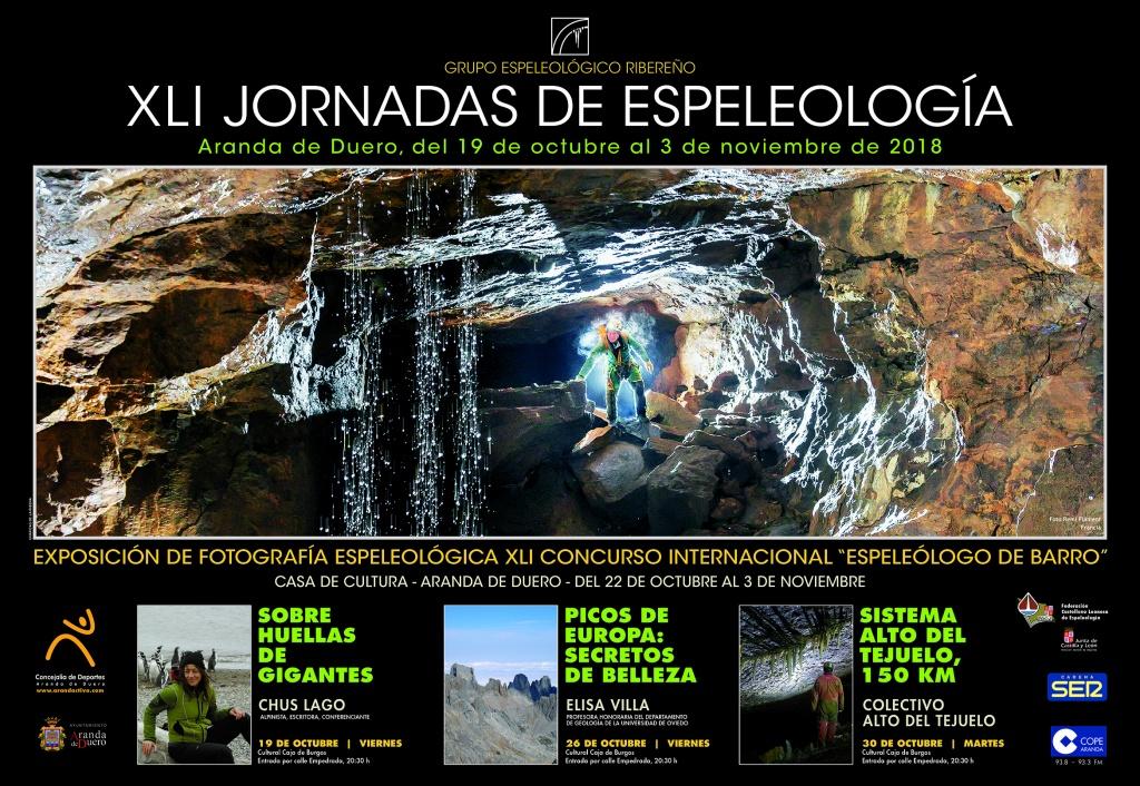 XLI Jornadas de espeleología