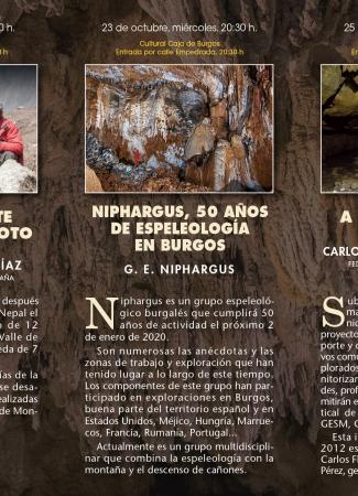 Ponencias XLII Jornadas de Espeleología
