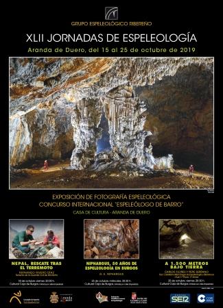 Cartel XLII Jornadas de Espeleología
